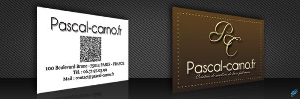 Carte de visite – Pascal-Carno.fr