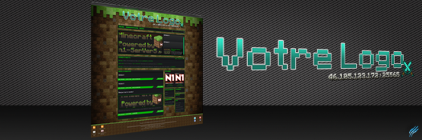 Theme WordPress – Minecraft