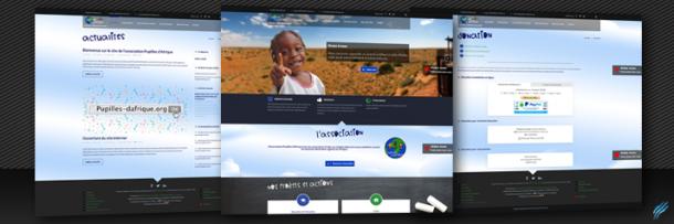 Site Web – Pupilles-dafrique.org