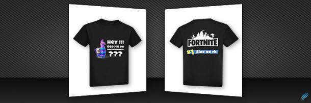 Tshirt – Fortnite Besoin d'un ravitaillement