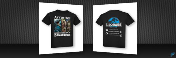 Tshirt – Jurassic World Leosaure